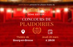 Concours de plaidoiries 2019